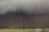 Ouflow ominant storm and gust front - Texas