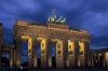 The Brandenburg Gate Berlin Germany, symbol of hope and reunification and centre of many of Germany's historical events