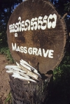 Mass grave site, Choeung Ek Killing Fields Cambodia Asia
