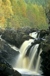 Rogie Falls, Inverness, Scotland, in the autumn