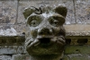 A gargoyle on the Church of St.Helen at West Keal in Lincolnshire