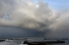 Severe gale and snowstorms - Seaham, County Durham