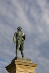 Captain Cook Statue in Whitby