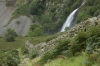 Aber Falls and Marian Rhaeadr-fawr in Coedydd Aber National Nature Reserve