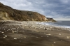D16787 - The cliffs and beach at Easington Colliery on the coast at County Durham