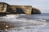 D16842 - Nose's Point at Blast Beach on the coast of County Durham