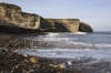 D16851 - Nose's Point at Blast Beach on the coast of County Durham