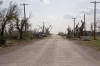 Damage from EF5 tornado that killed 10 people on May 4 2007 - Greensburg Kansas
