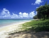 Anini Beach in Kaui in the Hawaiian Islands