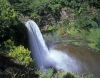 Wailua Falls in Kaui, Hawaiian Islands
