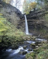 Hardraw Force waterfall in Wensleydale - North Yorkshire Dales National Park
